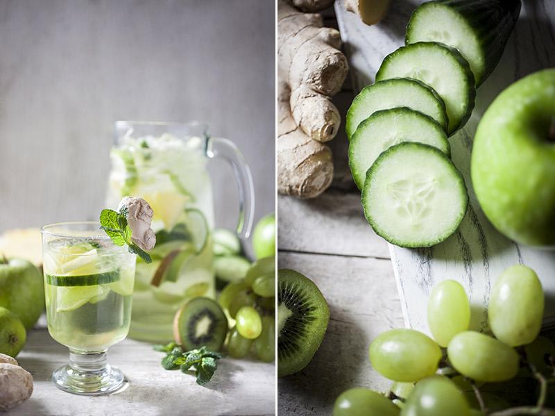 bbqxl refreshing green tea sangria