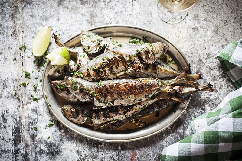 When your fish is grilled to perfection be sure to serve it with fresh or grilled lemon or lime on the side.