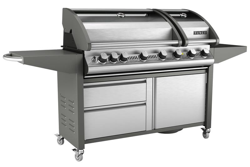 Sunco Sc59 13 Twin Hood 6 Burner Barbecue Ebay