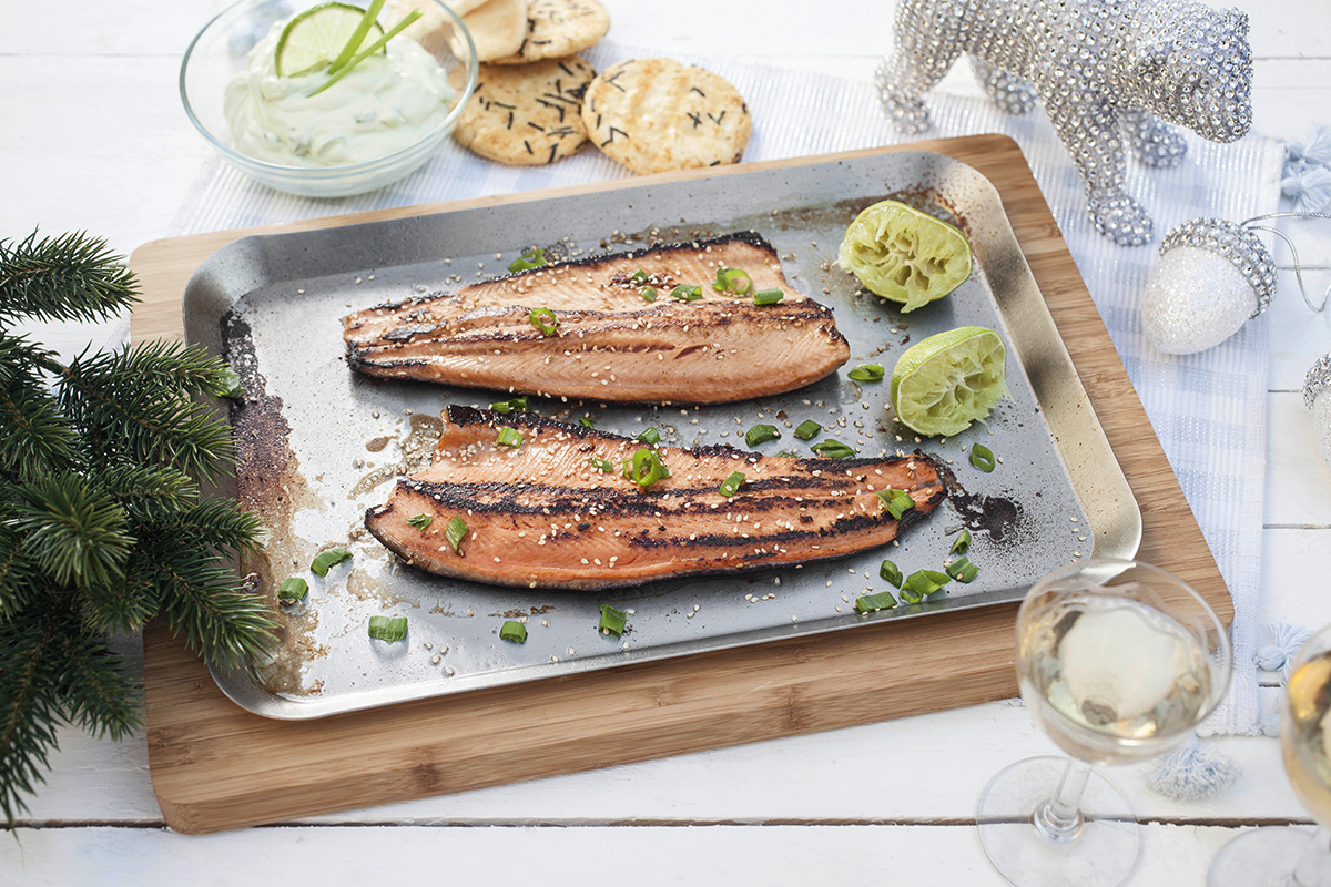 how to cook rainbow trout on the bbq