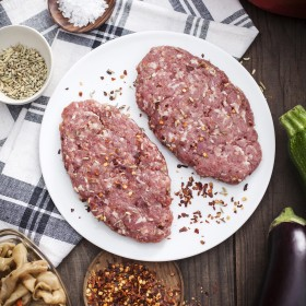 Italian sausage pork patties