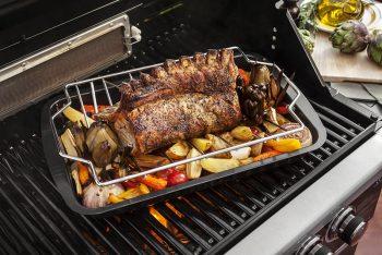 baking dish with roasting rack_Accessoreis_BBQXL