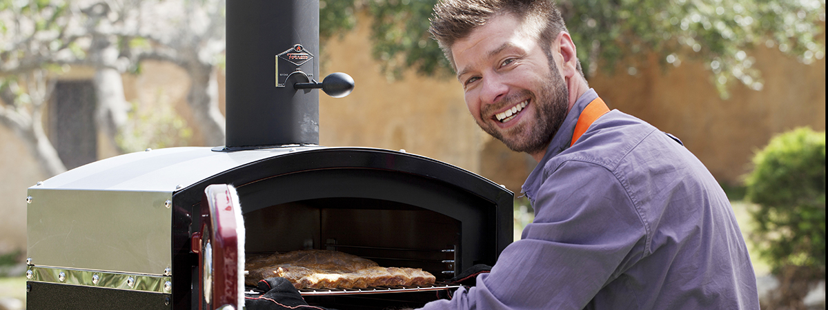 The PZ-5 Fornetto Pizza Oven is now back in stock!