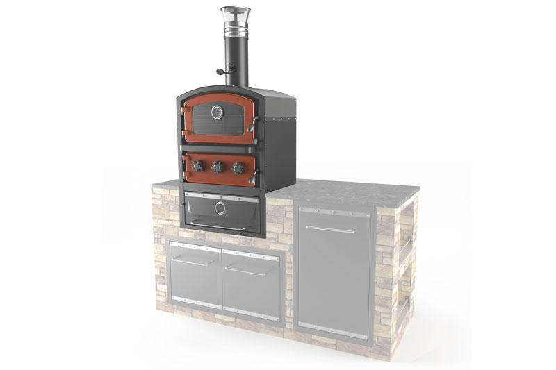 fornetto built in pizza oven