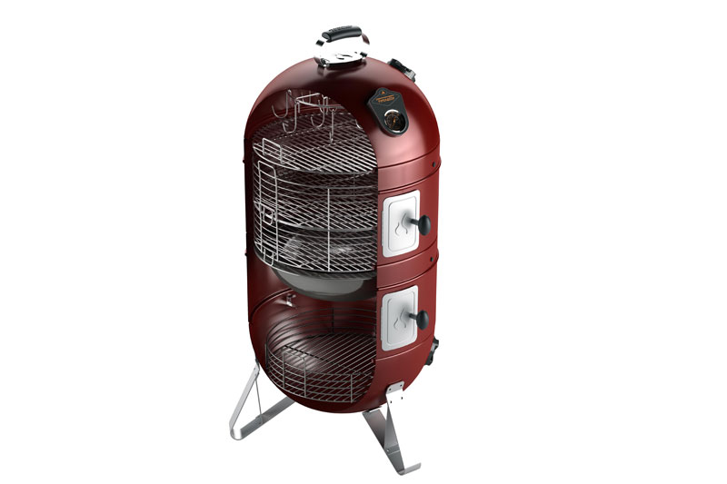 Fornetto Razzo Multi Function Smoker 18 Quot Empire Red Bbq