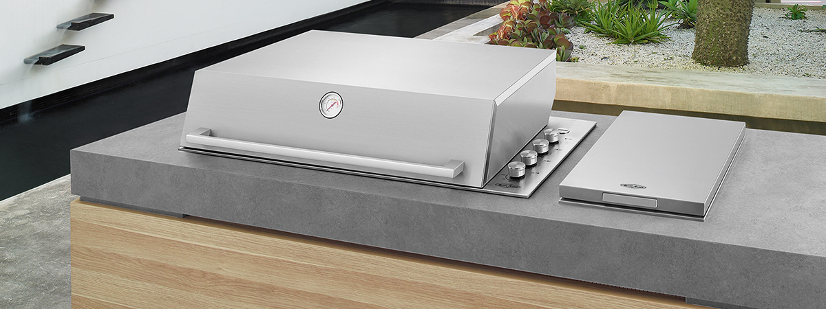Beefeater 4 Burner Hooded Built In BBQ
