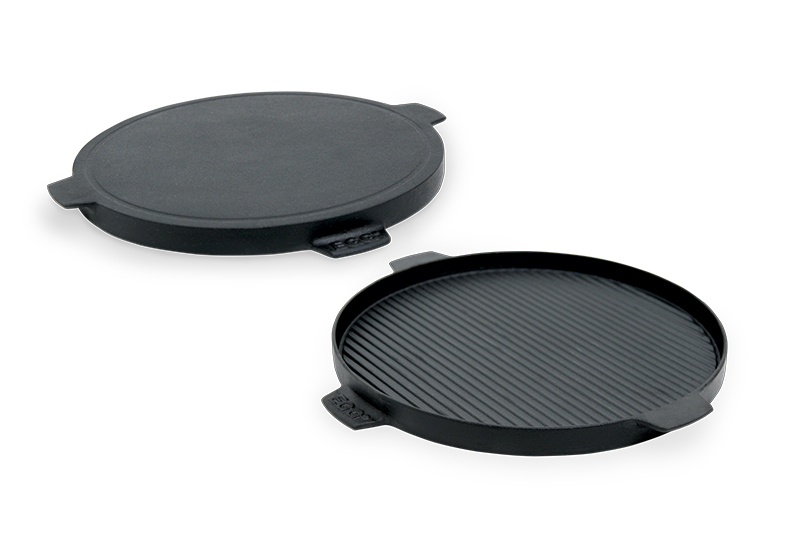 Big-Green-Egg-Cast-Iron-Plancha-Griddle-with-Grooves-and-Smooth